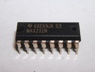 MAX232N Transceiver DIP 16 Pins Pack of 1